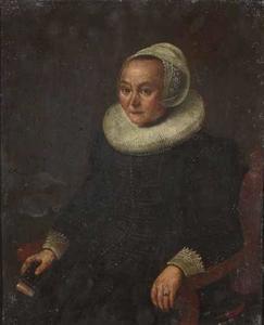 Portret van een 55-jarige vrouw