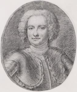 Portret van Michel Samuel de Mestral (1692-1750)