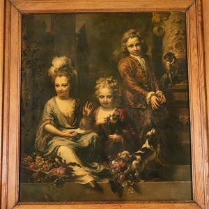 Groepsportret van drie kinderen
