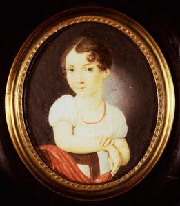Portret van Jacobine Cornelie Dalen (1802-1813)