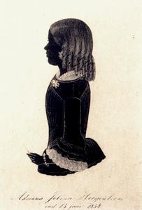 Portret van Adriana Jobina Hoogenboom (1841-1917)