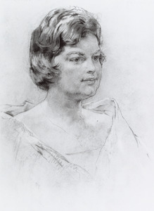 Portret van Ank Krist
