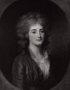 Portret van waarschijnlijk Maria Ida Albertina Melvill van Carnbee (1773-1855)