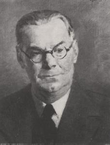 Portret van Ernest Jean Joseph Louis Oscar Bachigaloupi Tourniaire (1880-1939)