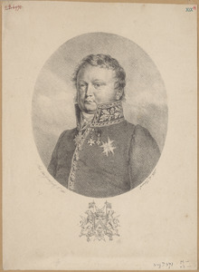 Portret van Florent Joseph van Ertborn (1784-1840)