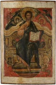 Tronende Christus