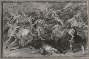 De strijd tussen Constantijn en Licinius