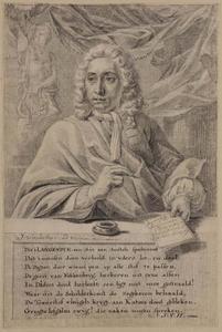 Portret van Pieter Langendijk (1683-1756)