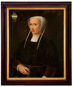 Portret van Anna Boelens (?-1551)
