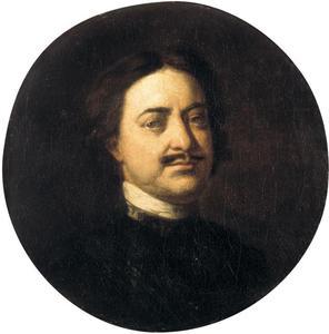 Portret van Peter de Grote (1672-1725)