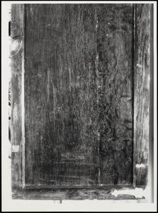 Zwart geschilderde luiken (buitenzijde luiken)