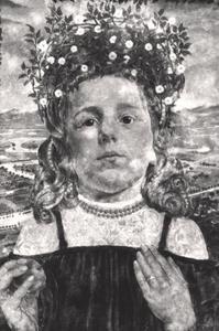 Portret van Agnes Maria Luns (1895-1975)