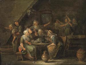Vrouwen in een herberg