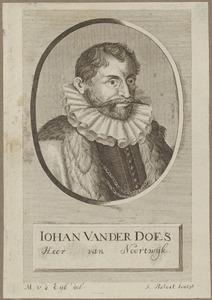 Portret van Jan van der Does (1545-1604)