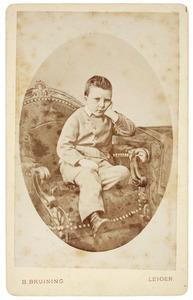 Portret van Philipp Rümke (1864-1874)