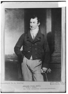 Portret van Salomon Dedel (1775-1846)