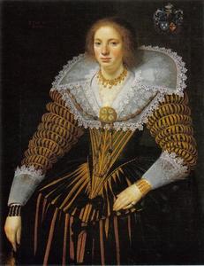 Portret van Lucia van Walta (1609 -1674)