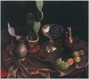 Stilleven met cactus