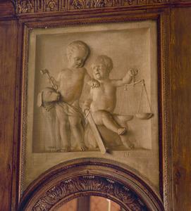 Allegorie op de gerechtigheid en de trouw