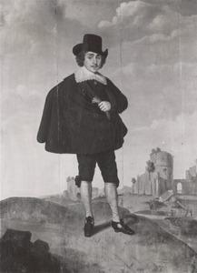 Portret van een man, mogelijk Laurens Jansz van Loosen (1621-1646) of Gerrit Jansz. van Loosen (1615-1661)
