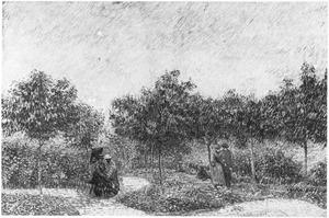 het park van Voyer-d'Argenson bij Asnières