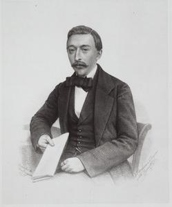 Portret van Pieter Verloren van Themaat (1830-1885)