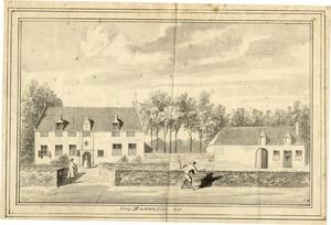 Het huis Soudenbalch (Zoudenbalch) bij Cothen in 1728