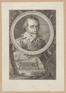 Portret van Willem van Oldenbarnevelt (1590-1634)