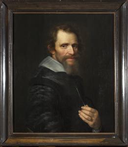 Portret van een man, mogelijk uit de familie Van der Poort