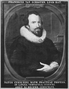 Portret van Franciscus van Schooten (1581- )