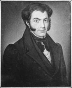Portret van Joannes Augustinus Verzijl (1780-1866)