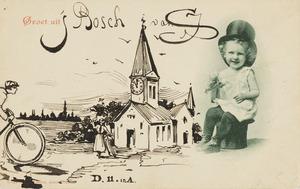 Groet uit 's Bosch van J.S.