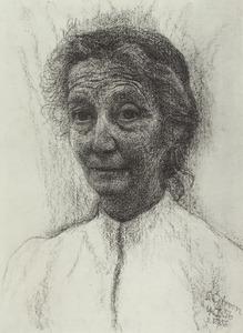 Portret van Celine Bendien (1889-1961)