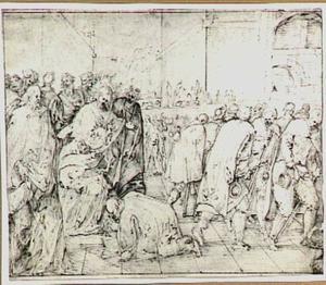 Christus geneest de melaatsen (Lucas 17:11-19)
