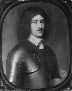 Portret van een man in een kuras