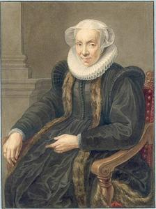 Portret van Maria van Utrecht (....-1629)
