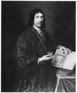 Portret van Gualtherus Boudaen (1637-1684)