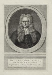 Portret van Lieve Geelvinck (1676-1743)