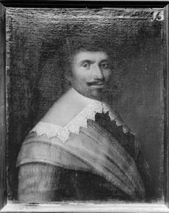 Portret van Herman van Ceuls, kapitein in het Noord-Hollands regiment
