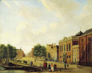 Hoogduitse Synagoge en Nieuwe Synagoge aan de Deventer Houtmarkt te Amsterdam