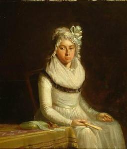 Portret van Geertruida Coulon