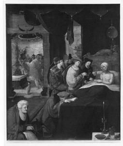 De bekering van de Romeinse prefect Cromatius door de H. Sebastiaan