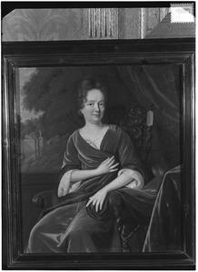 Portret van een vrouw, mogelijk Anna Clara van den Steen (1671-1712)