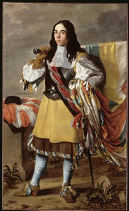 Portret van een onbekende vaandeldrager