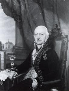 Portret van Jan Hendrik van Lynden (1765-1854)