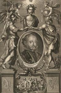 Prent in J. de Solorzano Pereira, Politica Indiana, Antwerpen 1703