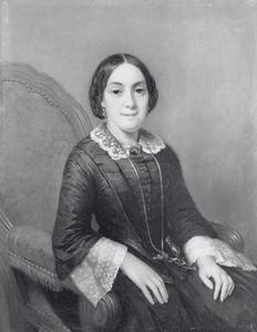 Portret van Catharina Leons ( -1865)