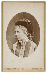 Portret van Marie van Pruisen (1855-1888)