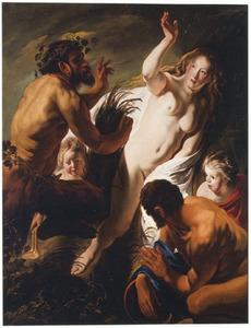Pan en Syrinx (Ovidius, Metamorfoses I:689-712)