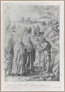 De H. Giovanni Gualberto en de drievoudig beloonde aalmoes